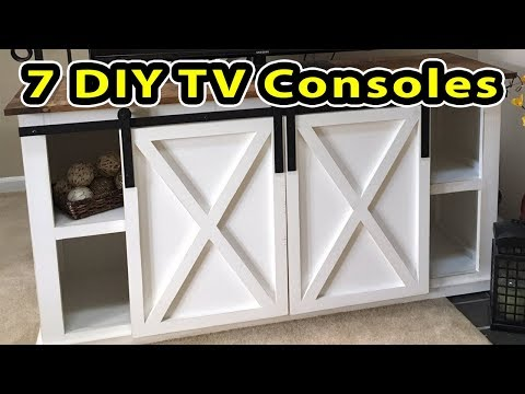 7 Entertainment Centers - DO IT YOURSELF PROJECTS