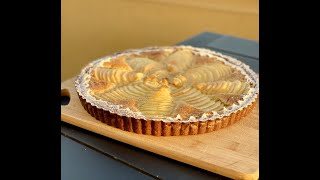 Almond-pear Tart - Taste Of France - Bruno Albouze - The Real Deal