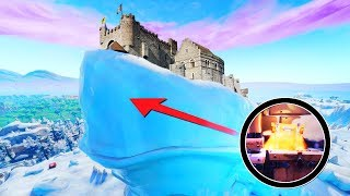 I went under the Iceberg.. *NEW* ENTIRE Polar Peak CASTLE REVEALED + VILLAGE! (SEASON 7 UPDATE)