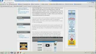 """The """"make money online for free experiment"""". landing page and social bookmarking"""