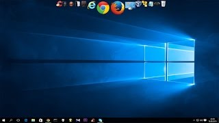 Jak zainstalować pasek ikon na Windows 10