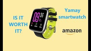 YAMAY SW018 smartwatch first impressions. Budget but good!?!?