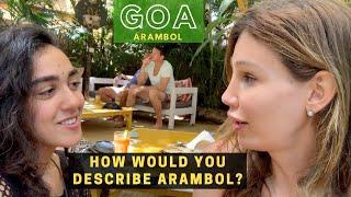 What is Goa India's Hippy Paradise, Arambol REALLY like? | India Travel Vlog #Goa #Arambol