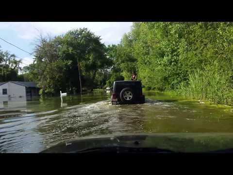Flooding in Ingleside, IL July 15th 2017