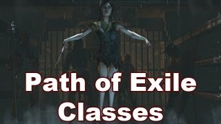 Class Differences in Path of Exile | Choosing a Character Class in PoE