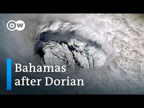 Bahamas aerial footage reveals Hurricane Dorian's destruction | DW News