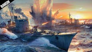 War Thunder BIG Boats MZ1 & Project 122 - War Thunder Ships Gameplay
