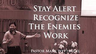 Stay Alert Recognize The En...