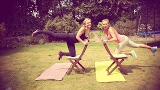 Simple At-Home Workout! | Anna Saccone