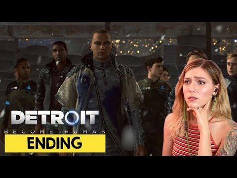 Detroit Become Human Ending & Alternate Ending | Marz Plays