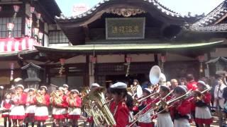 湯築小学校生徒によるブラスバンド演奏「前前前世」(君の名は。主題歌)