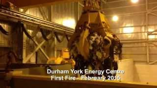 Covanta Durham York First Fire