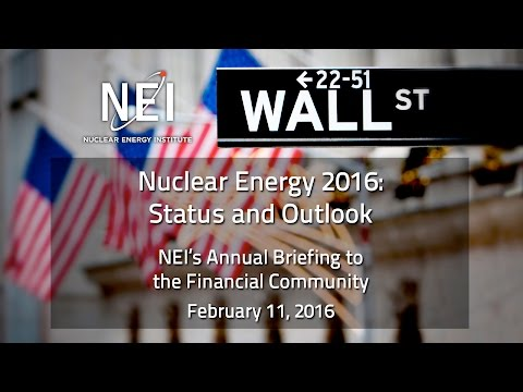 NEI's Briefing to the Financial Community