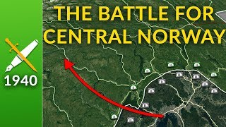 Norway 1940: The Battle for Central Norway