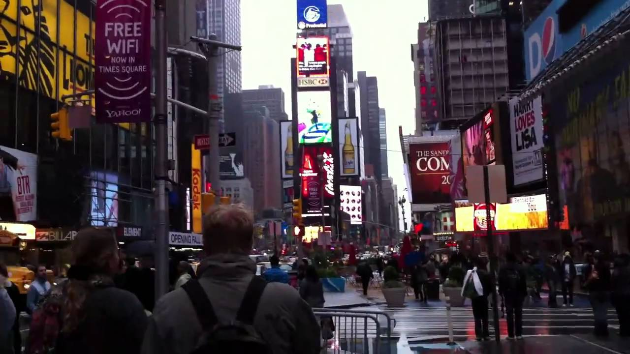 Times square mid town manhattan new york youtube for New york new york on the town