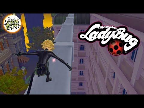 Miraculous Ladybug & Cat Noir #8 | LEVELS 33 - 38! CAT NOIR Paris Rescue Mission! By Crazy Labs