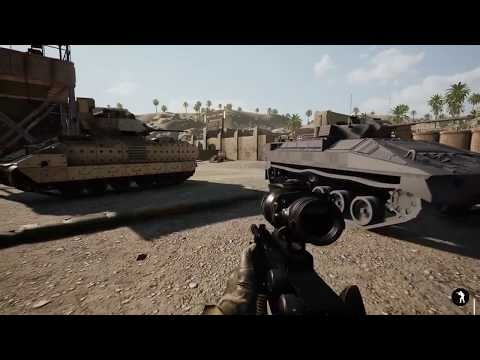 Squad v11 pre-release testing - Eating a TOW