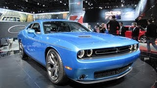 2015 Dodge Challenger Preview: New York Auto Show