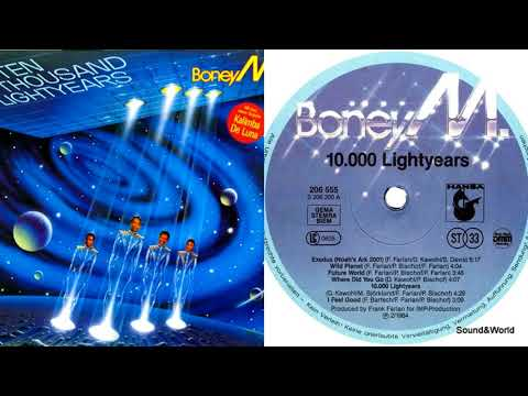 Boney M. – Ten Thousand Lightyears (Vinyl, LP, Album) 1984.