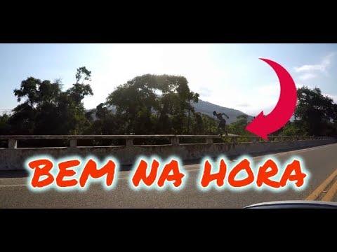 VIMOS UM JOVEM PULANDO DA PONTE - Rolê (096)