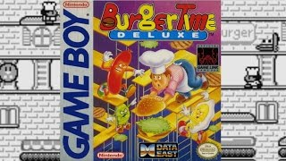 BurgerTime Deluxe | Game Boy | Data East | 1991