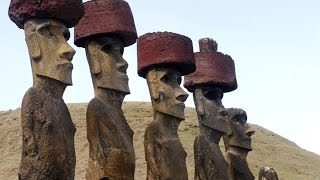 Easter Island Strange Mysteries - Discovered Stone Statue Bodies & Ancient Glyphs