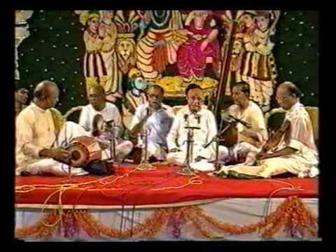 Semmangudi Srinivasa Iyer - Sri Ramanavami Concert at Nanganallur Anjaneyar Temple 57m 52s