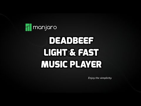 Deadbeef:  A light and fast music player