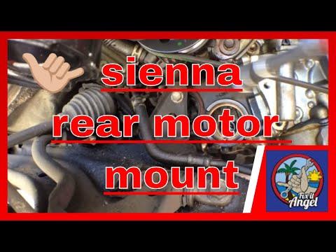 Toyota Sienna Rear Motor Mount Bushing Replacement