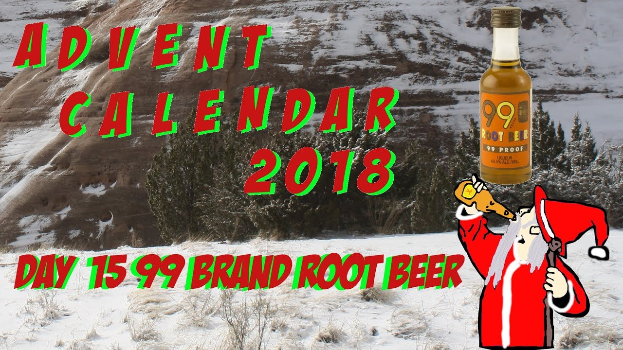 Alcohol Advent Calendar 2018 Day 15 99 Brand Root Beer