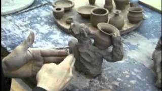 Sharing Art: Clay Figures