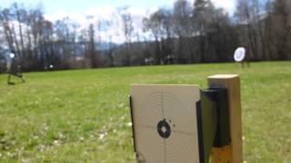 Weihrauch HW97K 16J. V/Mach, 10 shoot at 40 Meters