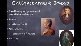 aPUSH Review: Video #9: The 1st Great Awakening, Anglicization, & The Enlightenment