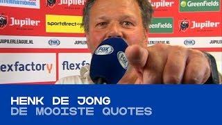 QUOTES | De mooiste uitspraken van Henk de Jong