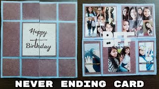 how to make birthday cards for friends\endless card\diy greeting cards\anniversary cards