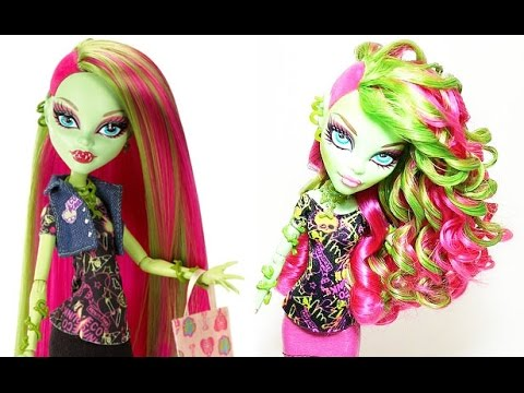 Styling Doll Hair How To Curl Your Dolls Hair  Youtube