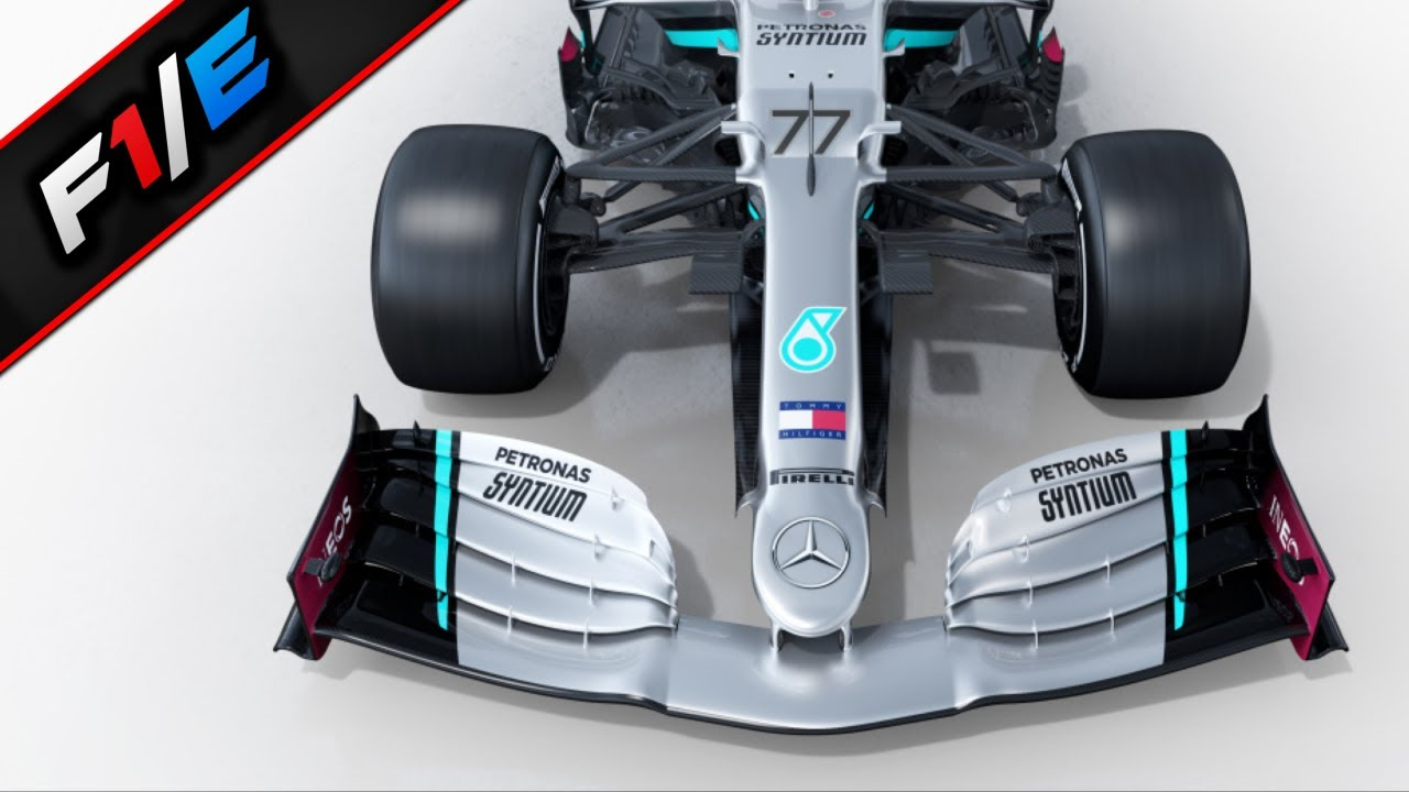 Mercedes F1 2020 Car Launch Analysis - YouTube