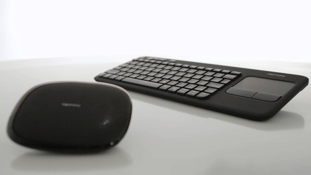 1beef2aa09c Logitech Introduces New Harmony Smart Keyboard - YouTube