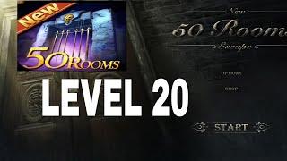 New 50 Rooms Escape Level 20 Walkthrough