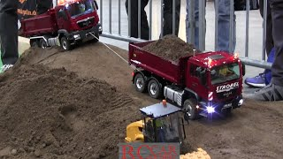 Modelltech Sinsheim 2016 - part 8 - RC TRUCKS and CONSTRUCTION MACHINES
