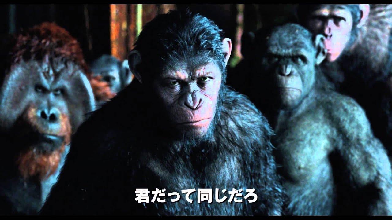 画像: 映画「猿の惑星:新世紀(ライジング)」予告編(100秒) youtu.be