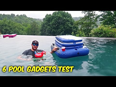 6 Pool Gadgets put to the Test!
