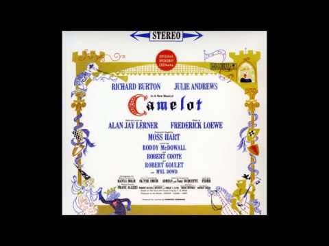 Richard Burton - Camelot Reprise ( Recorded At The Majestic Theatre,Broadway ) ( 1960 )