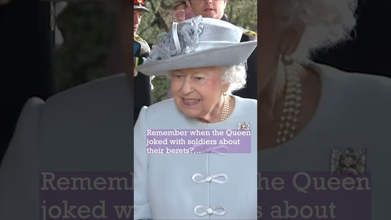 Remember when the Queen got the Giggles with Soldiers in Scotland?