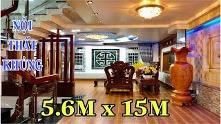 Bán nhà Gò Vấp 5.5m x 15m Choáng ngợp với nội thất bạc tỷ bên trong căn nhà Chính Chủ Mặt Tiền Đường