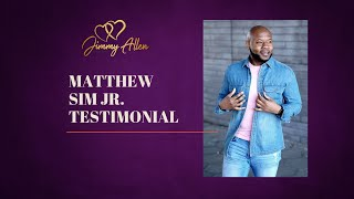 Client Testimonial with Matthew.