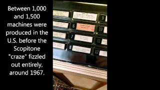 Vintage 1960s Scopitone 450 Video Jukebox