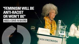 Angela Davis talk's iฑ Madrid:
