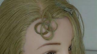 как делать из волос.