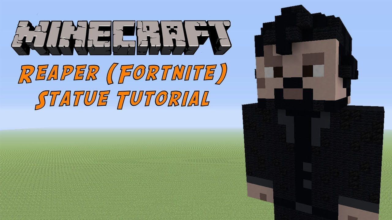Minecraft Tutorial: The Reaper (Fortnite Battle Royale) Statue